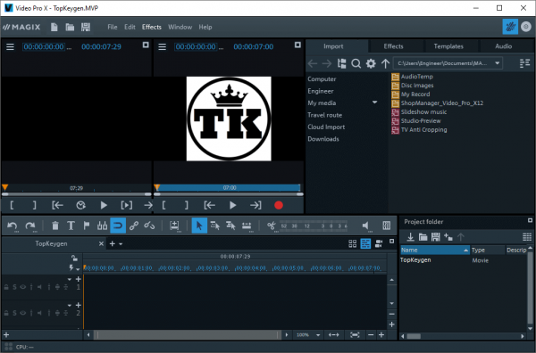 MAGIX Video Pro X12 v18.0.1.82 Patch {2020} Free Download