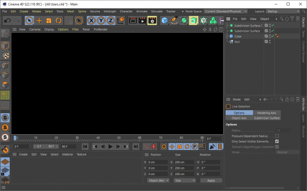 Maxon CINEMA 4D Studio S22.118 Crack {2020} Free Download