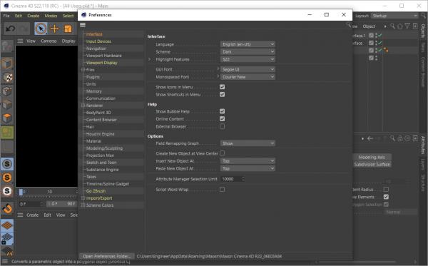 Maxon CINEMA 4D Studio S22.118 License Key {2020} Free Download
