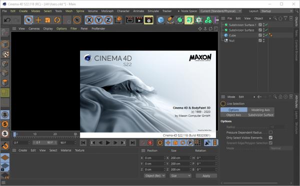 Maxon CINEMA 4D Studio S22.118 Patch & Serial Key {2020} Free Download