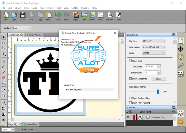 Sure Cuts A Lot Pro 5.039 Serial Key & Patch {2020} Free Download