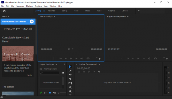 Adobe Premiere Pro Full Serial Key & Patch {Tested} Free Download