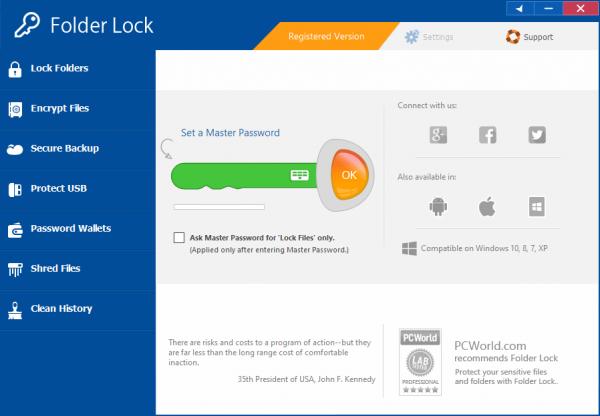 Folder Lock Full Crack & License Key {Tested} Free Download