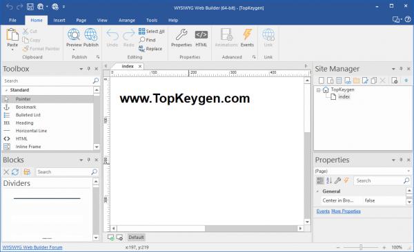 WYSIWYG Web Builder Full License Key {Tested} Free Download