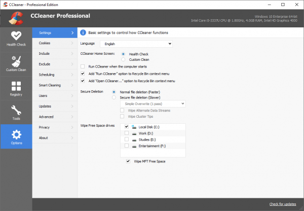 CCleaner Pro Full Patch & Serial Key {Tested} Free Download