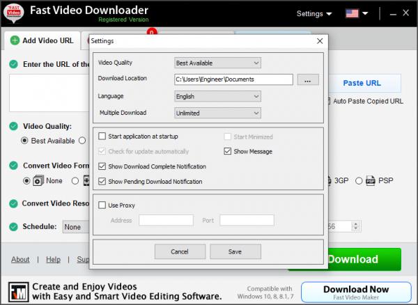 Fast Video Downloader Full Keygen & Activator {Latest} Free Download