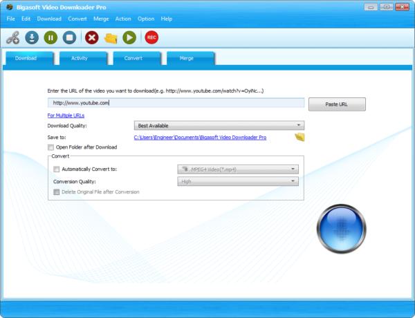 Bigasoft Video Downloader Pro Crack & Key {Tested} Free Download