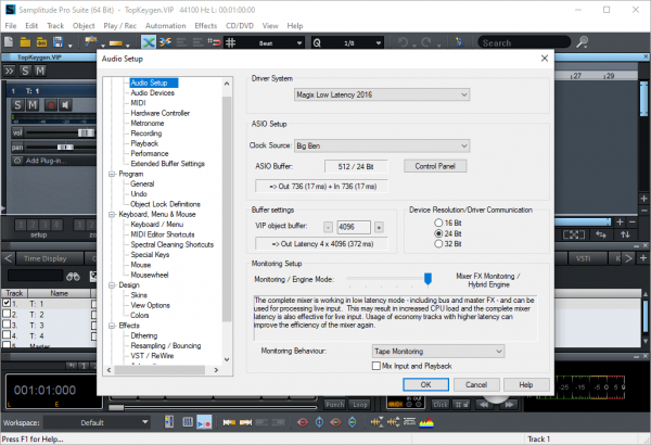 MAGIX Samplitude Pro Suite Full Keygen & Activator Tested Free Download