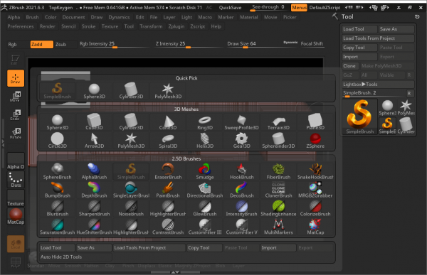 Pixologic ZBrush Keygen & Activator {Latest} Free Download