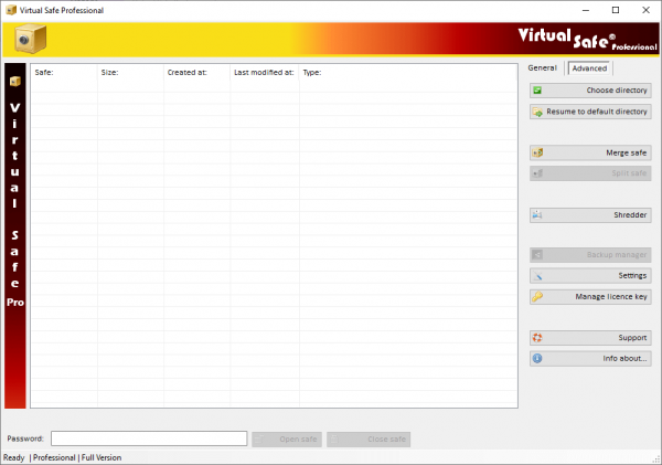 Virtual Safe Professional Registration Key & Patch {Tested} Free Download