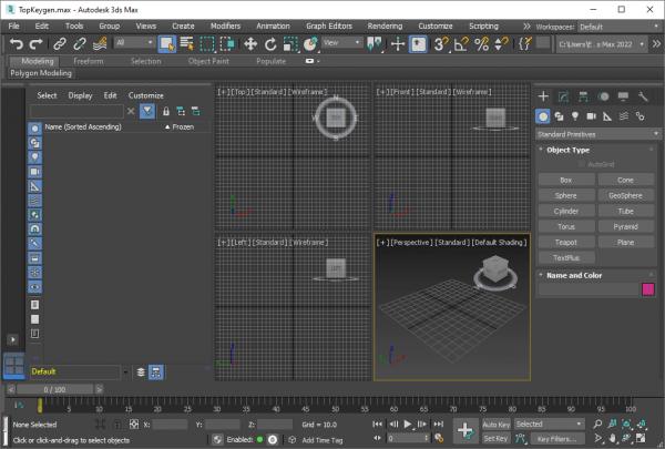 Autodesk 3DS MAX License Key & Patch {Tested} Free Download