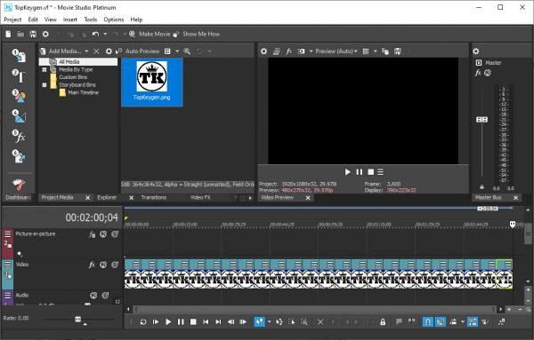 MAGIX VEGAS Movie Studio Platinum Patch {Tested} Free Download